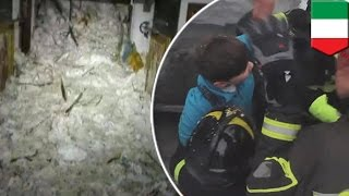 Surviving an avalanche  Italy avalanche victims ate snow in 58 hour Rigopiano ordeal   TomoNews