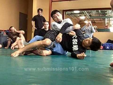 Eddie Bravo: the Chevy (getting the twister from back control)