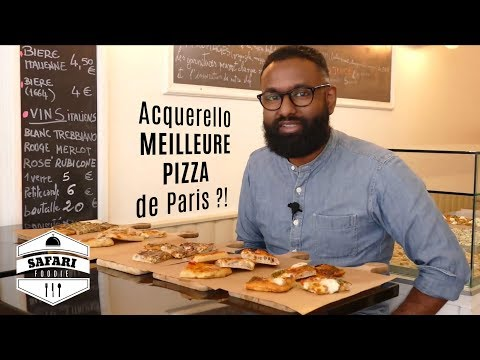La MEILLEURE Pizza De Paris ?! — Restaurant Acquerello