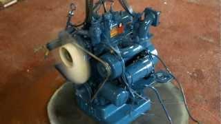 Kubota Z600 engine start