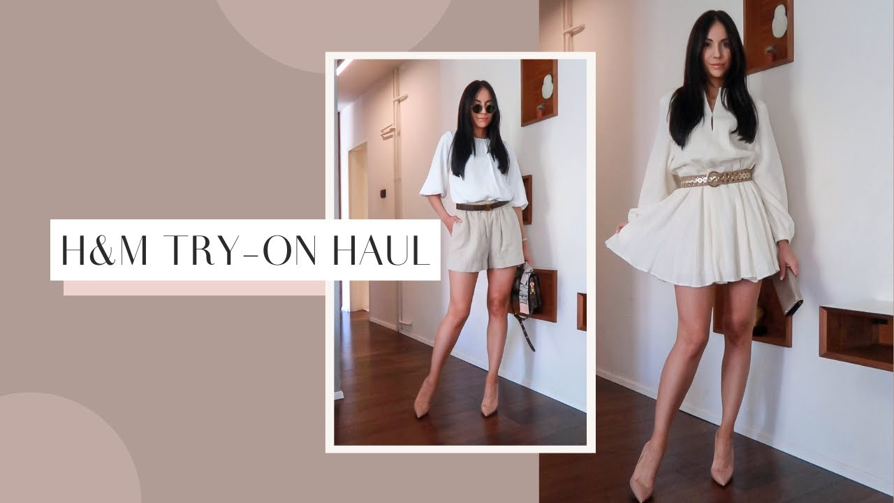 H&M Haul | Spring Summer Outfit Ideas | 2021