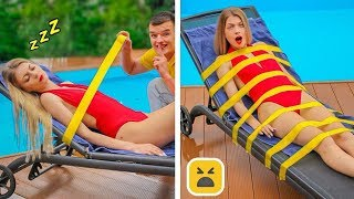 COOL SUMMER PRANKS! Easy DIY Prank Wars by Mr Degree