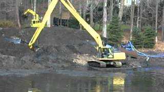 Dredging in Easton connecticut