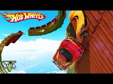 GTA 5 HOT WHEELS RACING!!! - EPIC GTA 5 Hot Wheels Track Playlist LiveStream! - GTA5 Funny Moments