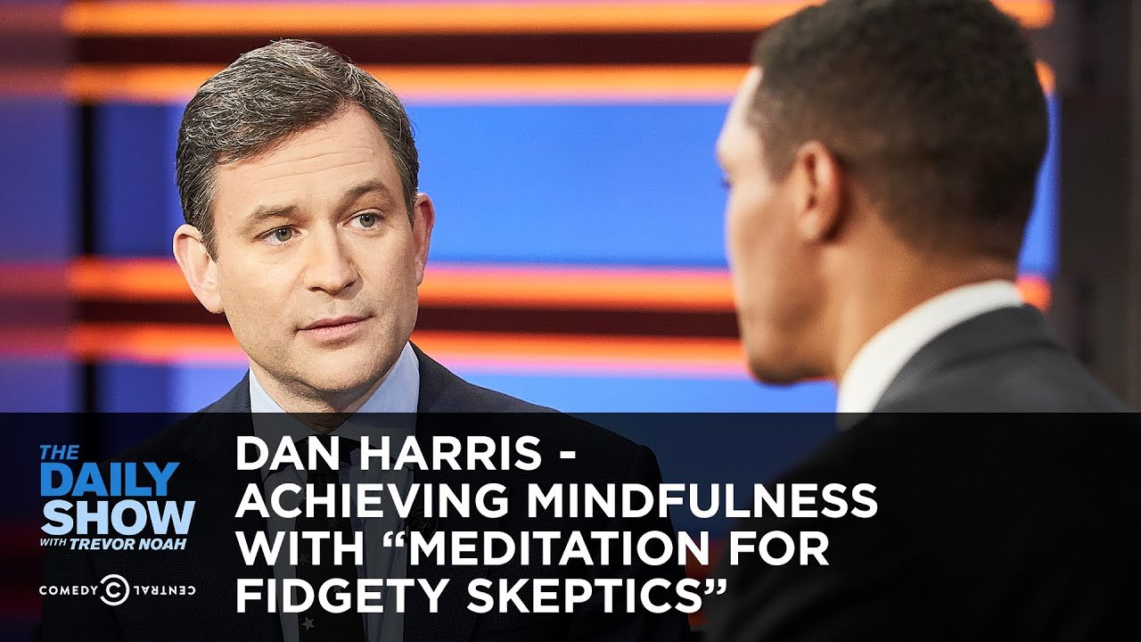 dan-harris-achieving-mindfulness-with-meditation-for-fidgety-skeptics-the-daily-show