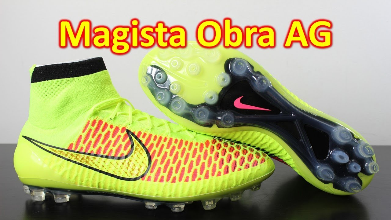 Nike Magista Obra AG (Artificial Grass) Volt Hyper Punch - Unboxing + On  Feet - YouTube 890cb103b