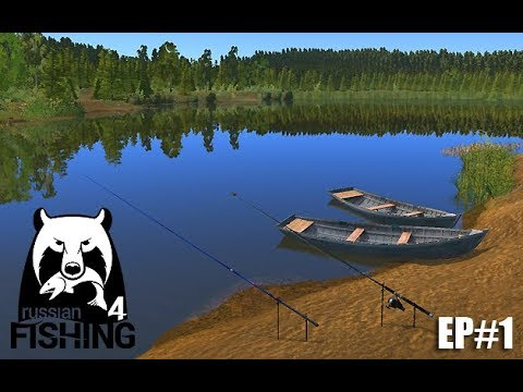 Russian Fishing 4 English - Starting Out - RonMctube EP#1