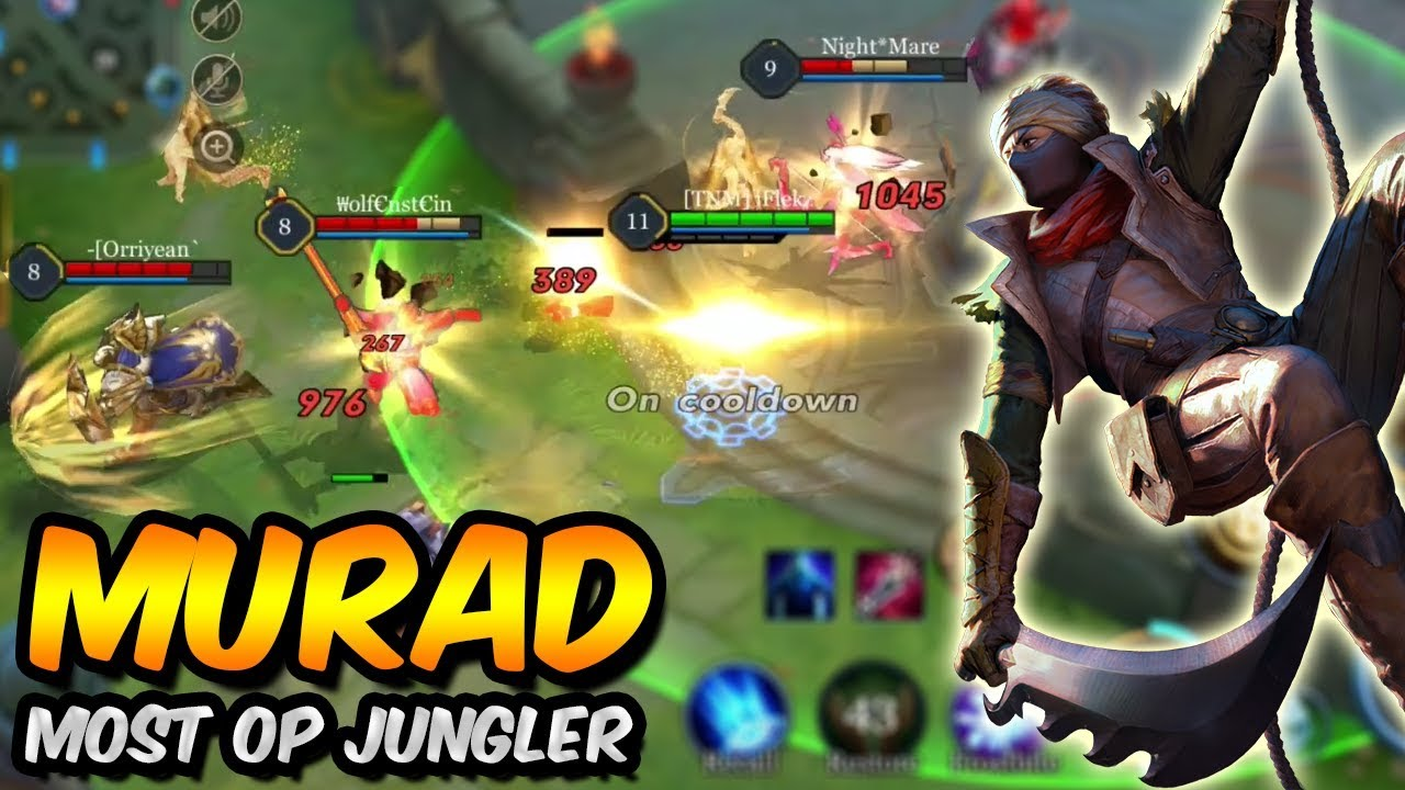 The Best Jungler Murad Most Op Perfect Gameplay Arena Of Valor Aov
