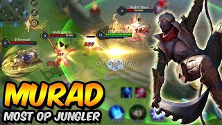 THE BEST JUNGLER MURAD (MOST OP!) PERFECT GAMEPLAY! ARENA OF VALOR AOV