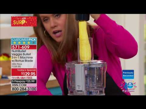 HSN | Kitchen Innovations Celebration featuring Veggie Bullet 07.31.2017 - 06 AM