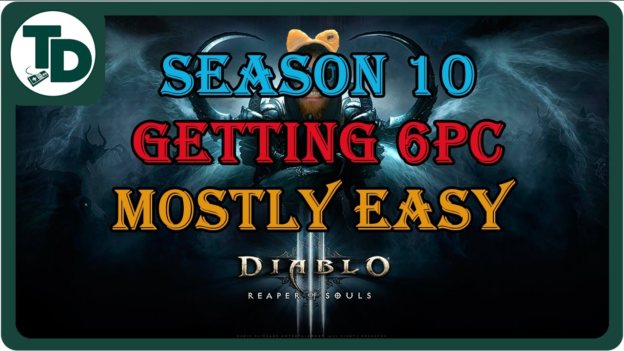 Help getting Haedrig's Gift for Wizard Season 10 Diablo 3 | 1st ...