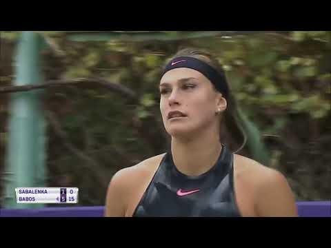 Timea Babos vs Aryna Sabalenka - Tashkent Open 2017