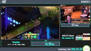 Awesome Games Done Quick 2015 - Part 9 - Transistor by Vulajin