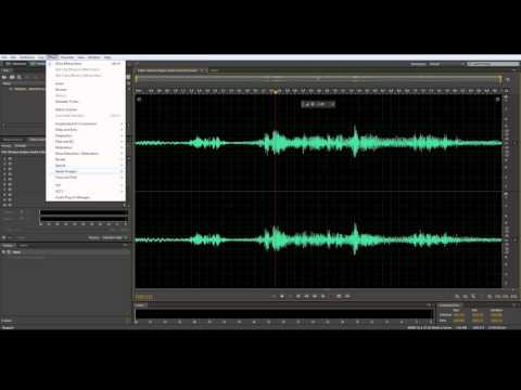 How to remove Background Noise and Music using Adobe Audition