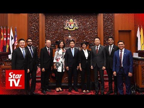 Singapore Speaker of Parliament visits Dewan Rakyat