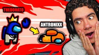 ME CONVERTIRE EN EL MEJOR ACTOR PARA GANAR SIEMPRE EN AMONG US | TheDonato, Antronixx y MAS !!
