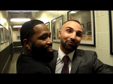 PAULIE MALIGNAGGI PULLS ADRIEN BRONER ASIDE FOR PRIVATE ADVICE ON ROUGH WEEK; BRONER HAS NO REGRETS