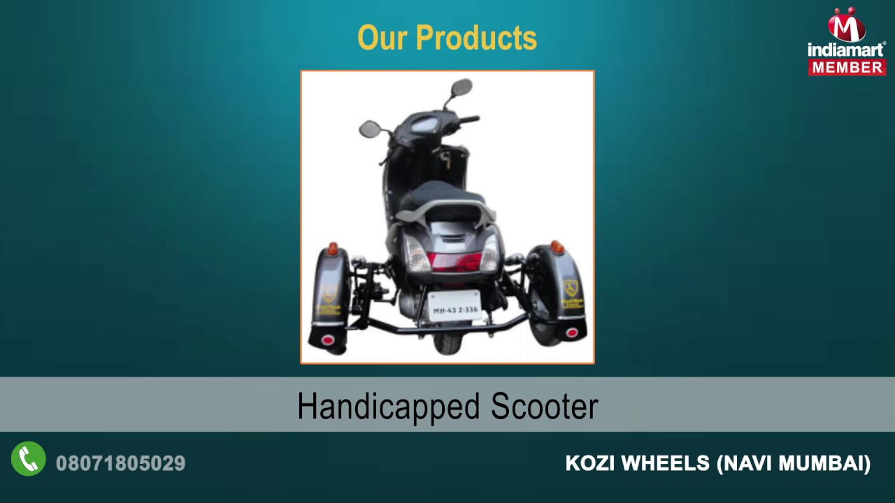Sidecar Handicapped Accessories By Kozi Wheels Navi Mumbai