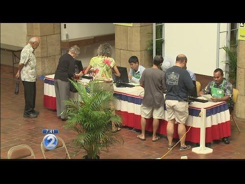Early voting in Hawaii underway through Nov. 5