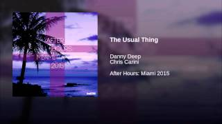 The Usual Thing (Original Mix)