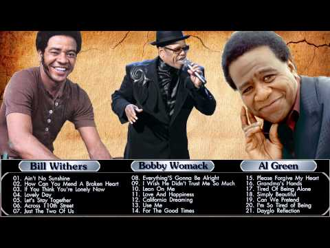 Bill Withers,Al Green,Bobby Womack : Greatest Hits - R&B, soul Collection