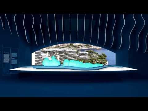 Le Pavillon de Monaco à l'exposition internationale spécialisée d'Astana