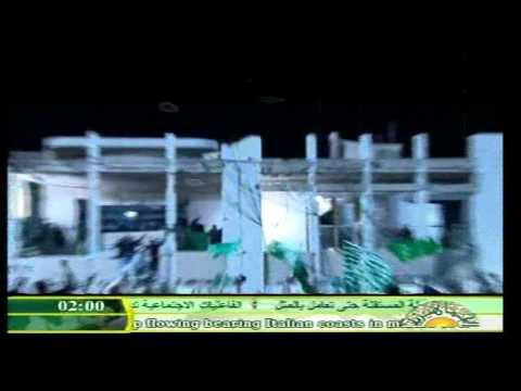Libia / Propaganda a favor de Muammar Al Gaddafi - Libya / TV message for Muammar Al Gaddafi