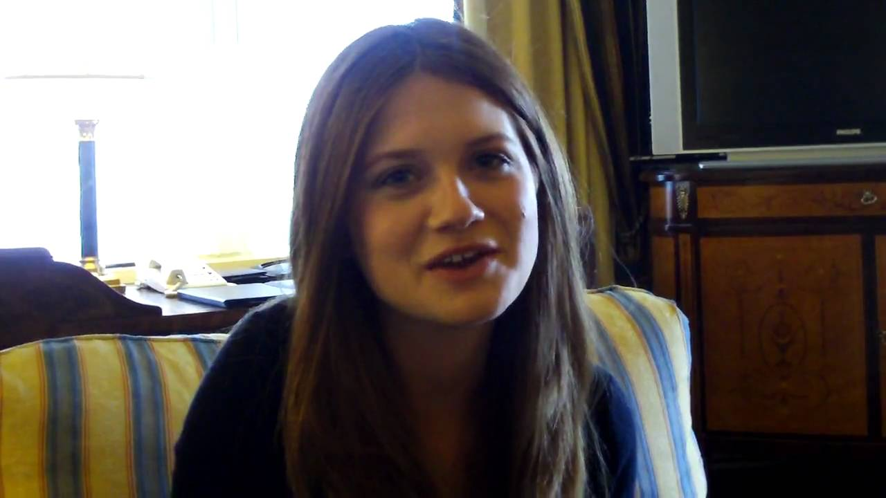 bonnie wright ginny weasley harry potter youtube