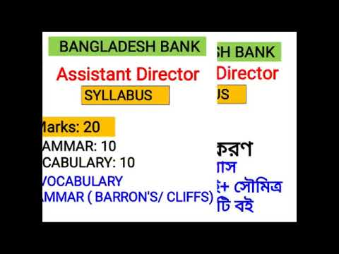BB, Assistant Director 100 Marks MCQ Syllabus