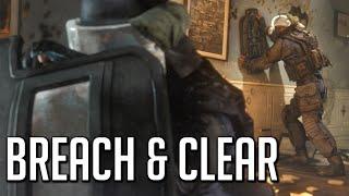 Breach And Clear! Rainbow Six, Shield Abuse.
