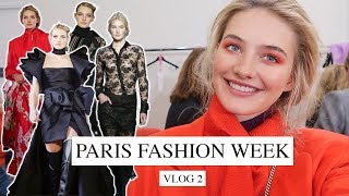 A Week In My Life As A Model | Paris Fashion Week & Walking A Runway | Sanne Vloet