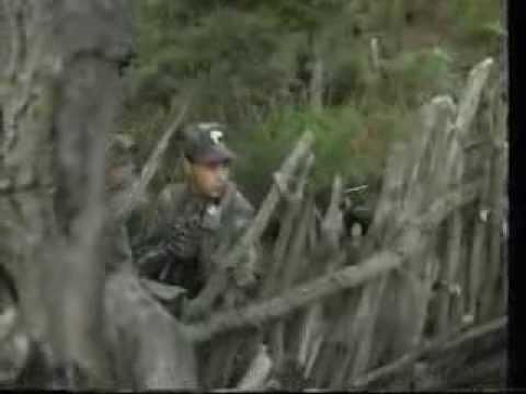 CARABINIERI CACCIATORI CALABRIA  primo filmato