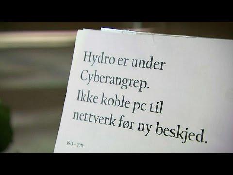 Hackerangriff beim Aluminium-Riesen Norsk Hydro