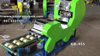 Mesin Pembuat Mie / Bakmi teknologi terbaru, GB-955 telah tercipta di Indonesia