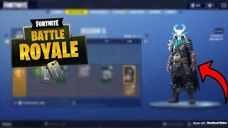 FORTNITE SEASON 5 ALL NEW TIER REWARDS SEASON 5 NEW SKINS, PICK AXES, AND GLIDERS ALL REWARDS SEASON