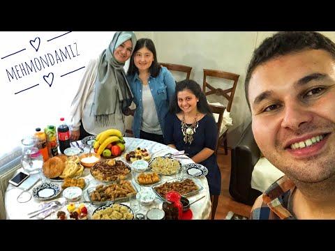 TURK YIGITINING QO'LIDAN O'ZBEK TAOMLARI