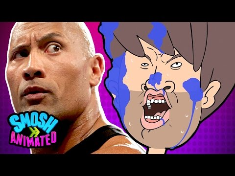 WHAT THE ROCK IS ACTUALLY COOKING (Smosh Animated)