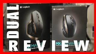Logitech MX Master and MX Anywhere 2 Review