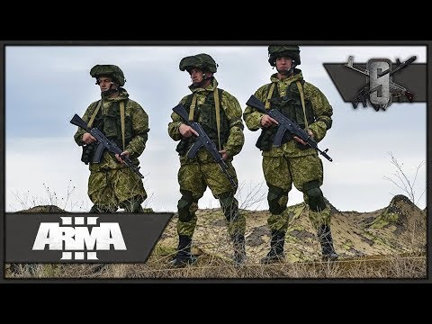Frontal Assault on Military Bases - ArmA 3 Zeus Gameplay - Russian Persistent Campaign #2