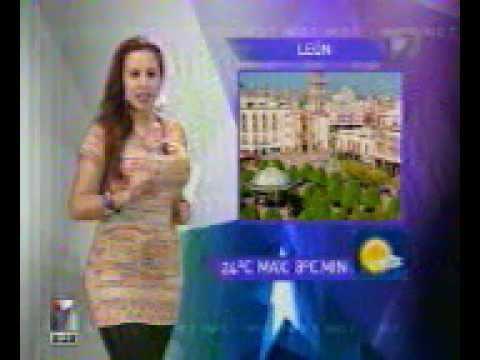 Presentadora de tv azteca - 1 5