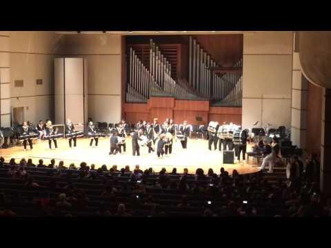 Topeka High School Drumline (2016 Pops Concert)
