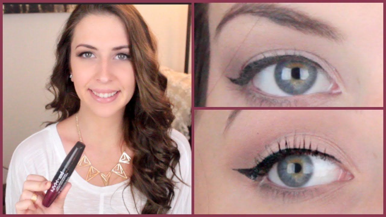 8e68bbb4eed NYX XXL Mascara Review   Makeup Minute - YouTube