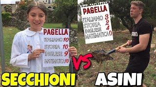 LA PAGELLA  - SECCHIONI VS ASINI