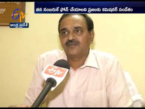 Prohibition and Excise Department Commissioner Lakshmi Narasimham Providing Call Center in Office