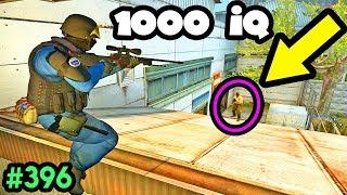 1000 IQ JUMPSHOTS! - CS:GO BEST ODDSHOTS #396