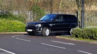 Range Rover Sport 3 0 SD V6 HSE Luxury Pack 4X4 5dr Moving Shots