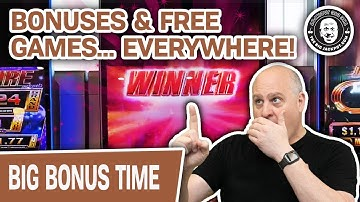 🎇 HOW MANY BONUSES Can I Hit with CASINOS OPEN AGAIN? 🔥 Non-Stop FREE GAMES Too!