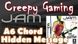 CREEPY GAMING - Jam Sessions A6 HIDDEN MESSAGE