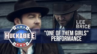 """Lee Brice And The Music City Connection Perform """"One Of Them Girls"""" 