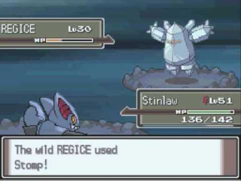 Pokemon Platinum Catching All 4 Regis
